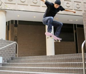 ''Specifically, we wanted to create a performance denim fabric for skateboarders, as there was demand for a higher abrasion resistance in this market.""